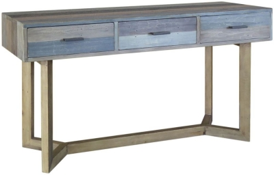 Sorrento Reclaimed Pine Console Table - Large