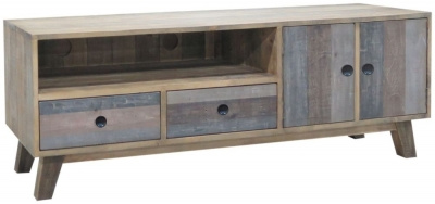 Sorrento Reclaimed Pine Entertainment Unit - Large
