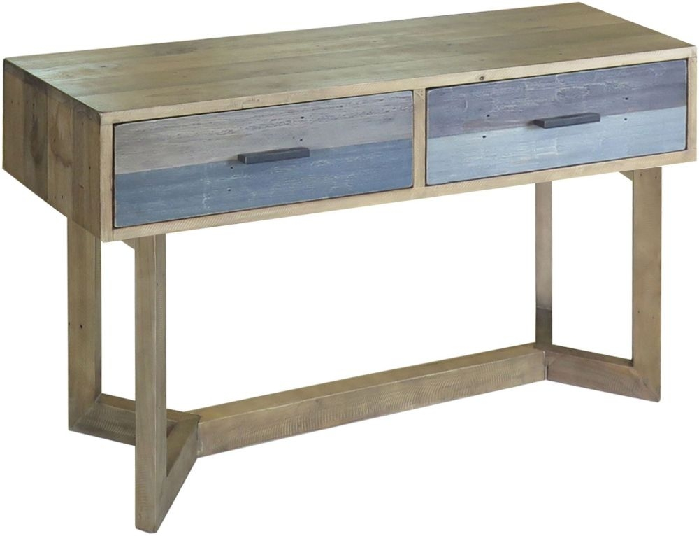 Sorrento Reclaimed Pine Console Table - Small