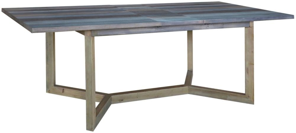 Sorrento Reclaimed Pine Extending Dining Table - Small
