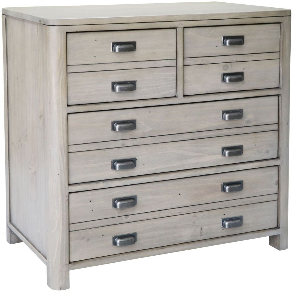 Tempest Reclaimed Pine 4 Drawer Chest