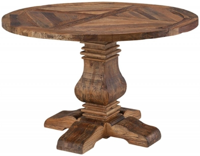 Urban Round Pedestal Dining Table - 48Inch
