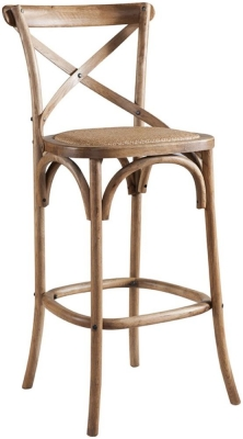 Urban Cross Back Bar Stool