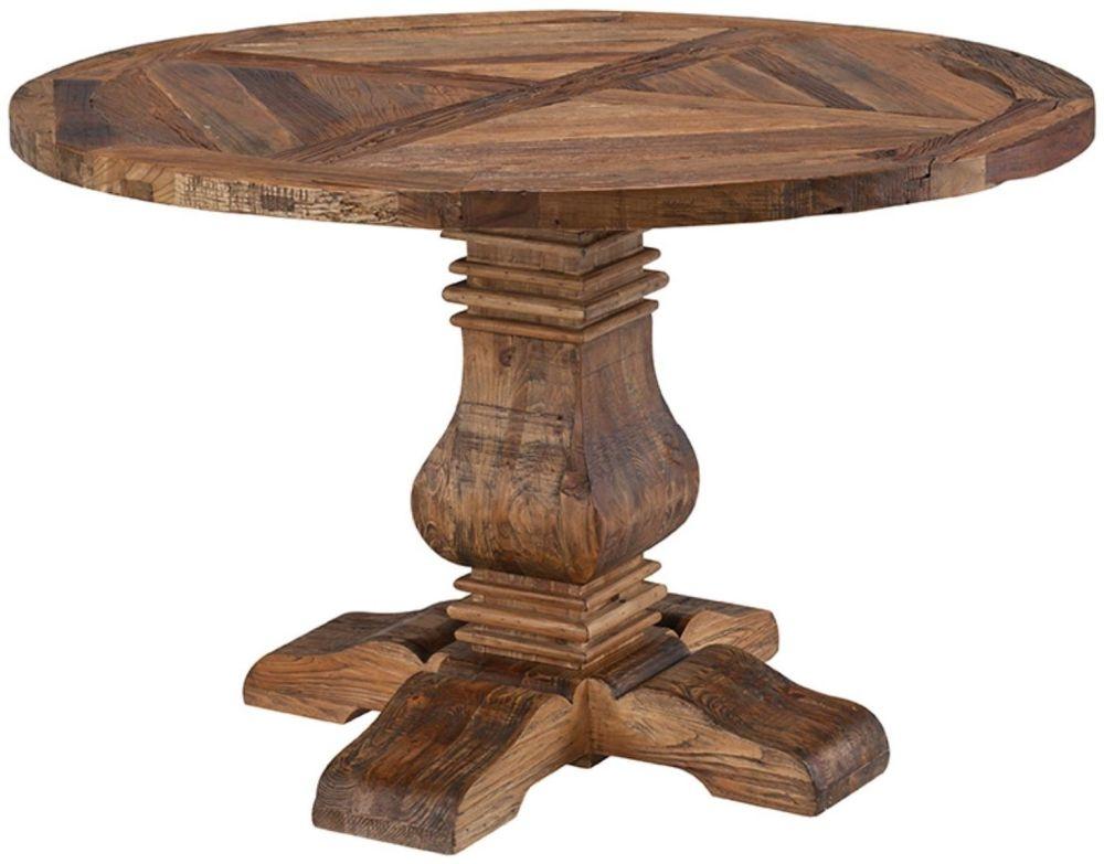 Urban Round Pedestal Dining Table - 48Inch