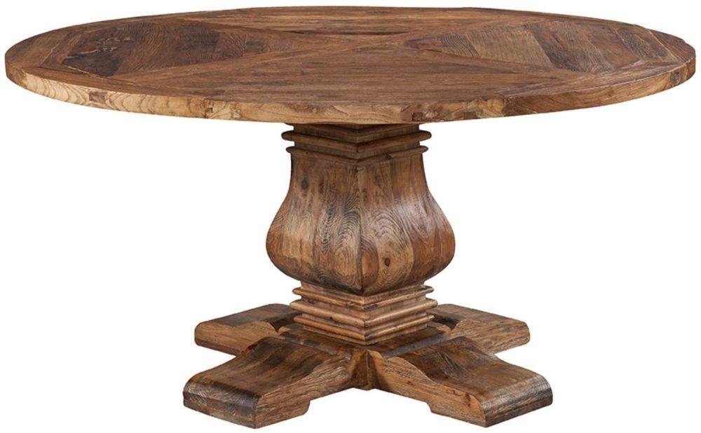 Urban Round Pedestal Dining Table - 60Inch