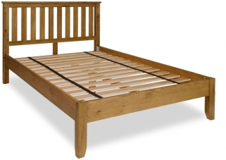Verona Rustic Oak Bed