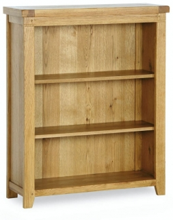 Verona Rustic Oak Bookcase - Small
