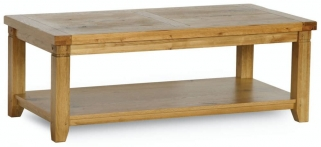 Verona Rustic Oak Coffee Table