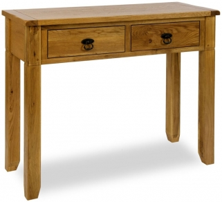 Verona Rustic Oak Dressing Table