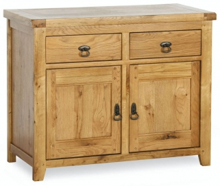 Verona Rustic Oak Sideboard - 2 Door
