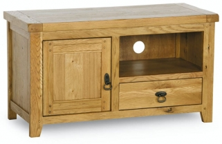 Verona Rustic Oak TV Unit - Small