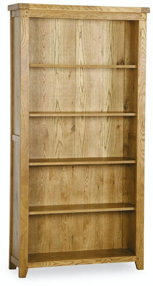 Verona Rustic Oak Bookcase - Tall
