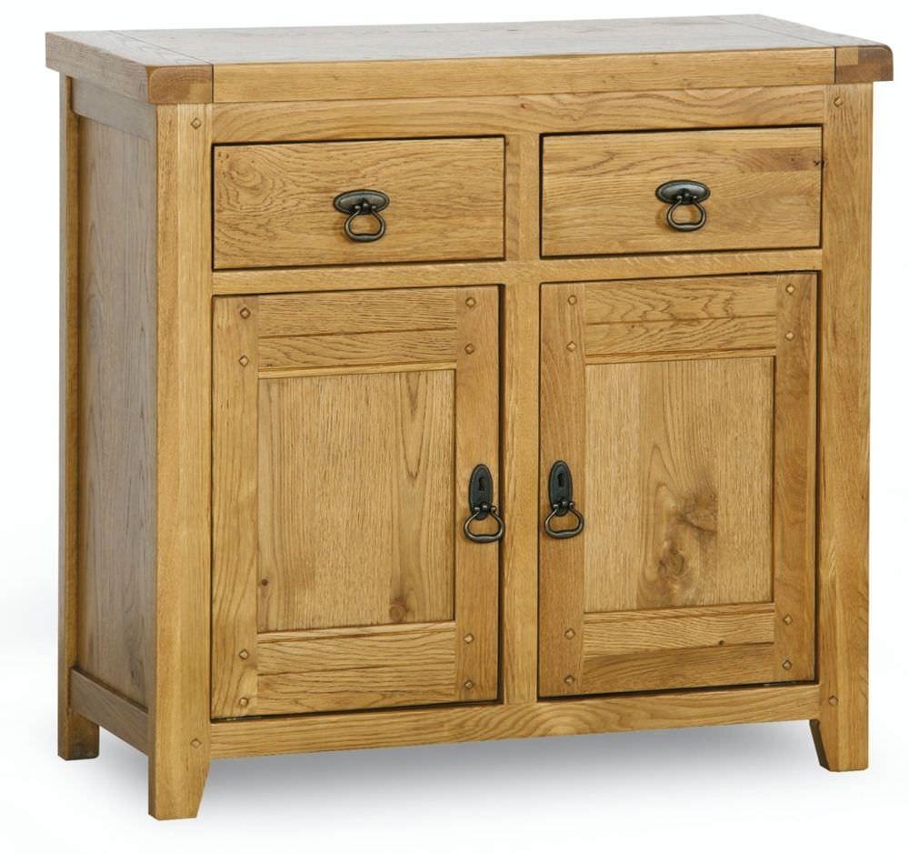 Verona Rustic Oak Sideboard - Mini