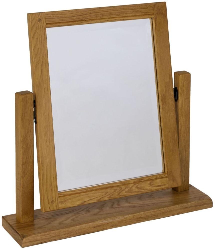 Verona Rustic Oak Swing Mirror
