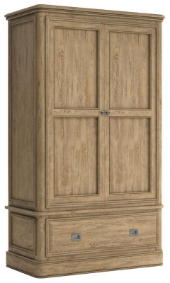Versailles Oak Gents Wardrobe