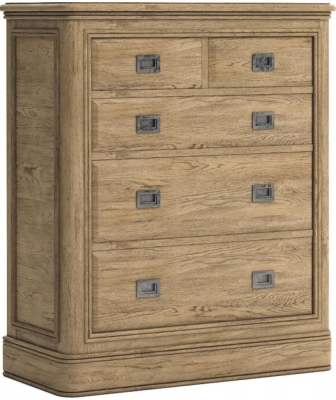 Versailles Oak 2 Over 3 Drawer Chest