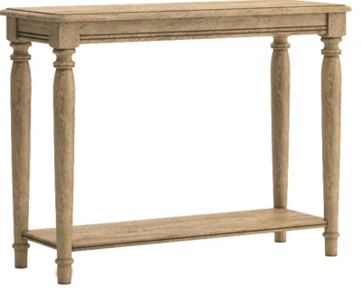 Versailles Oak Console Table