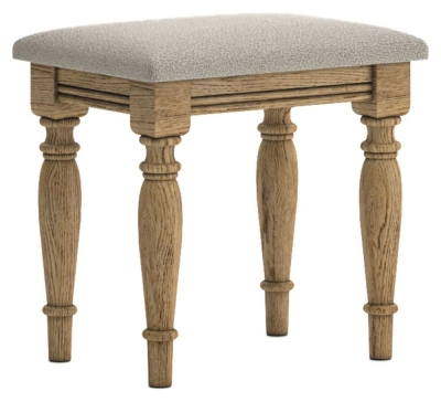 Versailles Oak Dressing Stool