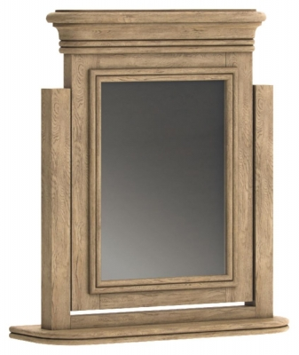 Versailles Oak Dressing Table Mirror