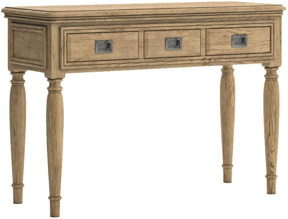 Versailles Oak Dressing Table