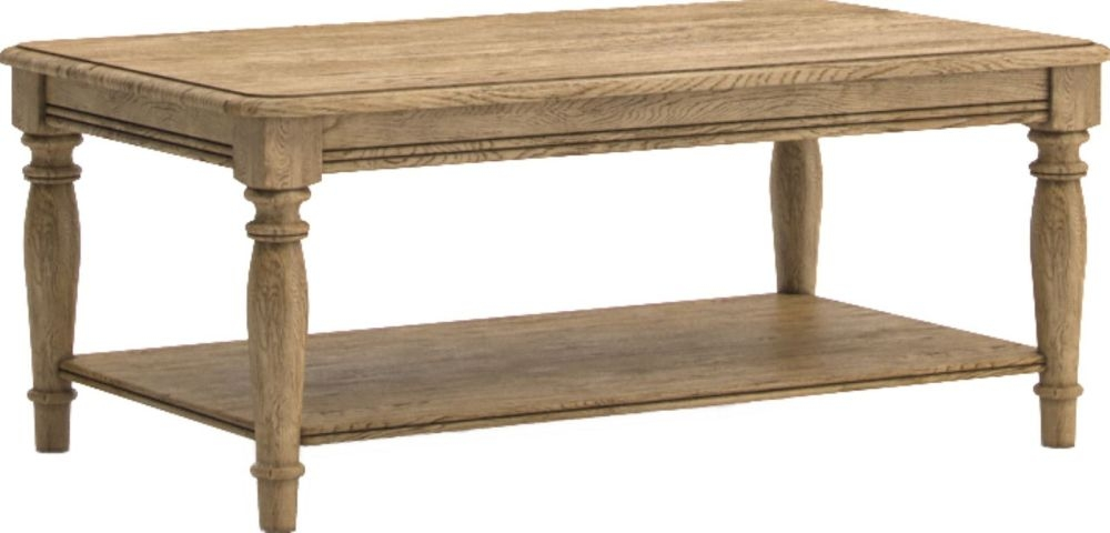 Versailles Oak Coffee Table