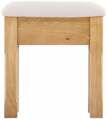 Welland Pine Dressing Table Stool