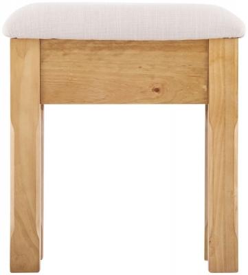 Welland Pine Dressing Table Stool