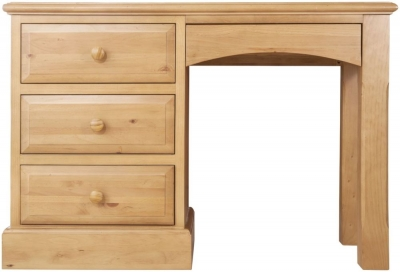 Welland Pine Single Pedestal Dressing Table