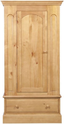 Welland Pine Wardrobe - 1 Door