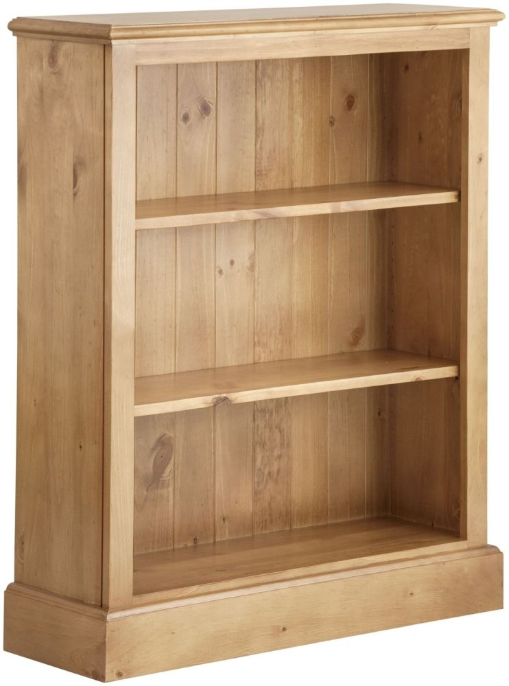 Welland Pine Low Bookcase