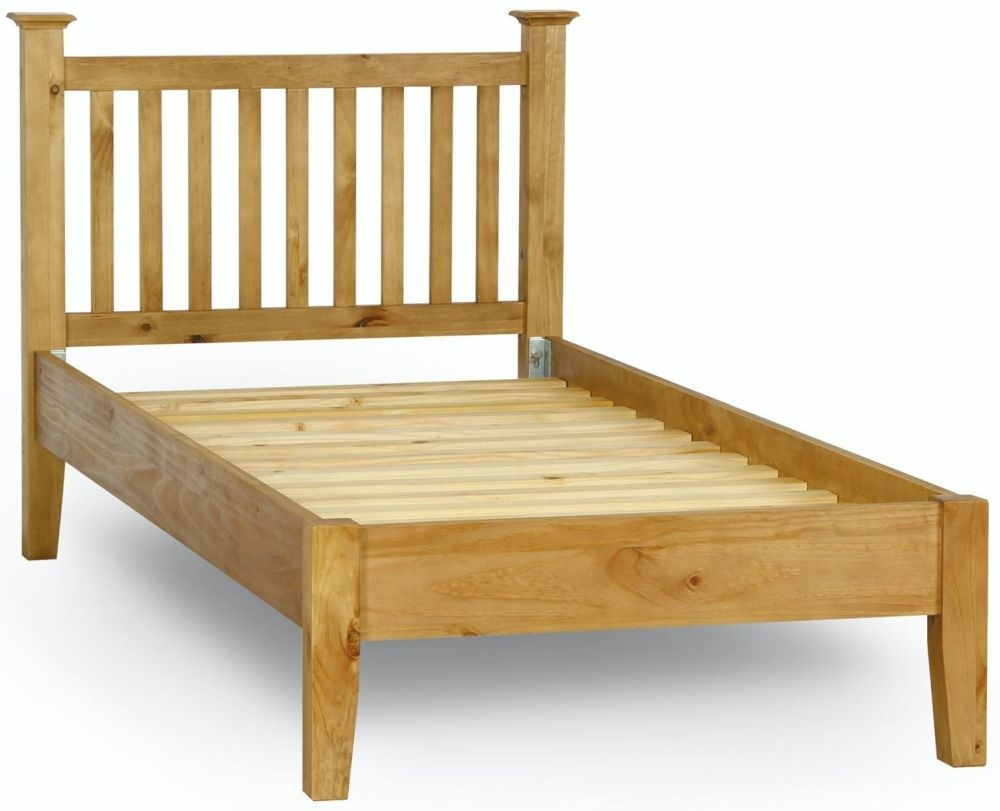 Welland Pine Low Foot End Bed