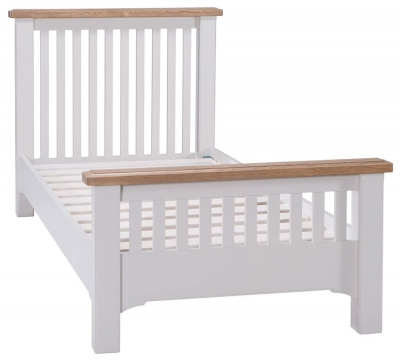 Westbury Grey Painted Bed - 3ft Single