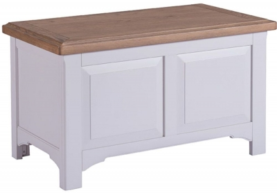 Westbury Grey Painted Blanket Box