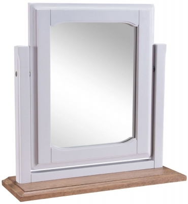 Westbury Grey Painted Swing Mirror