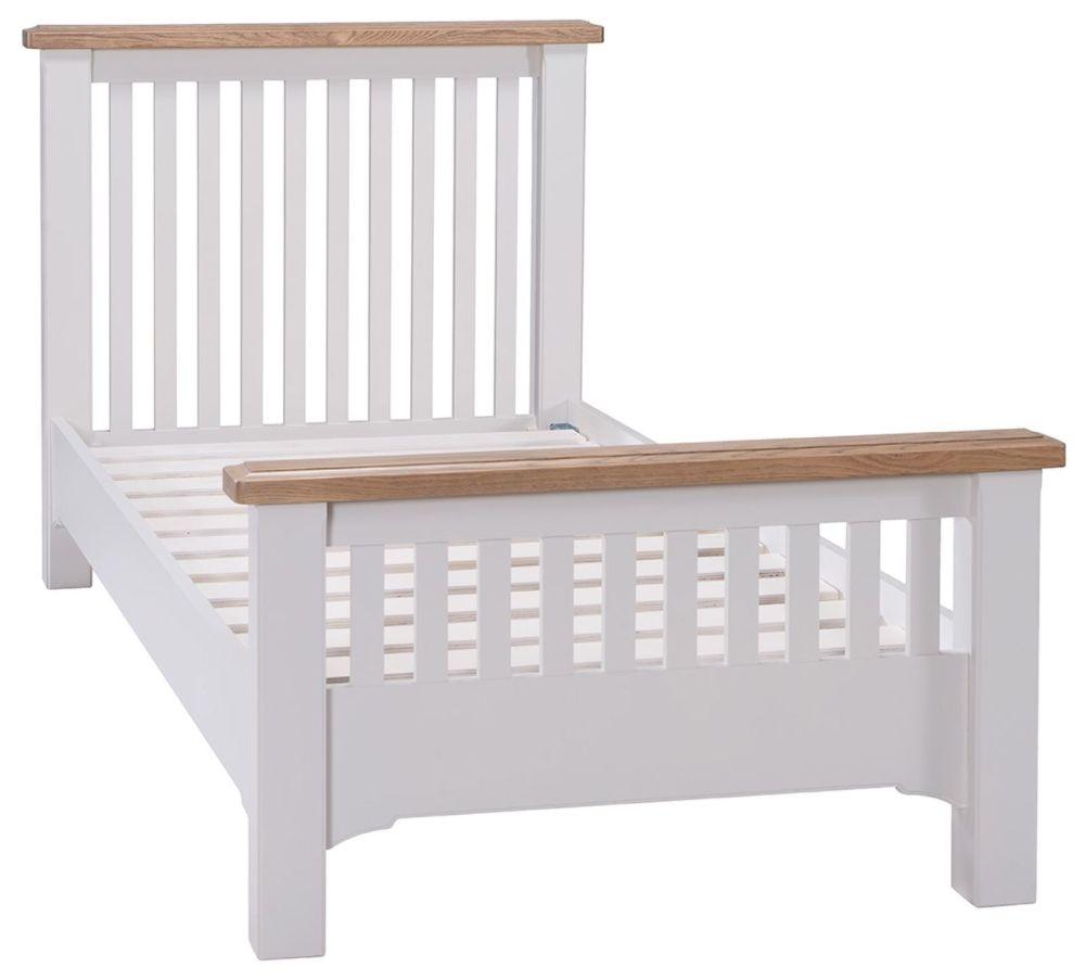 Westbury Grey Painted Bed - 3ft Single