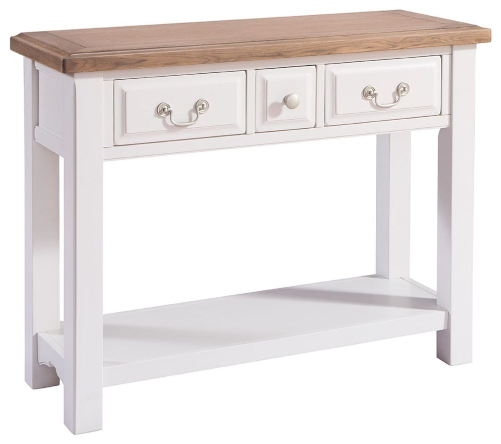 Westbury Grey Painted Console Table