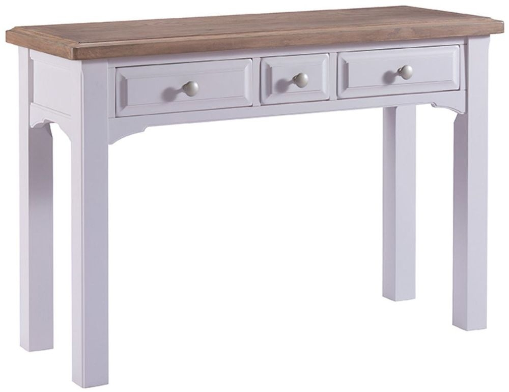 Westbury Grey Painted Dressing Table - 3 Drawer