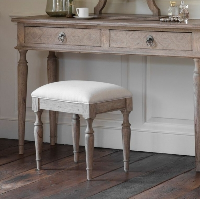 Clearance Half Price - Hudson Living Mustique Dressing Stool - New - 665