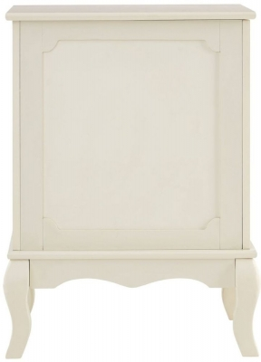 Clearance - Marcella Ivory Laundry Bathroom Storage Cabinet - New - FS871