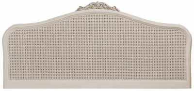 Clearance - Willis and Gambier 6ft Queen Size Ivory Headboard - New - FS512