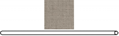 Clearance - Rauch Quadra Hanging Rail in Texline Linen look in Natural Hues - New - CFS143605