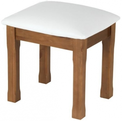 Clearance - Henbury Pine Dressing Stool - New - E-230