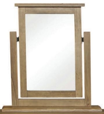 Clearance - Regatta Rustic Pine Dressing Mirror - New - E-106