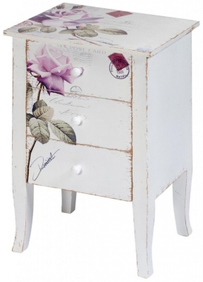Rose Chest of Drawer - 3 Drawer - CL-2031