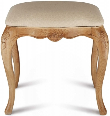 Willis and Gambier Charlotte Oak Stool - CL-647