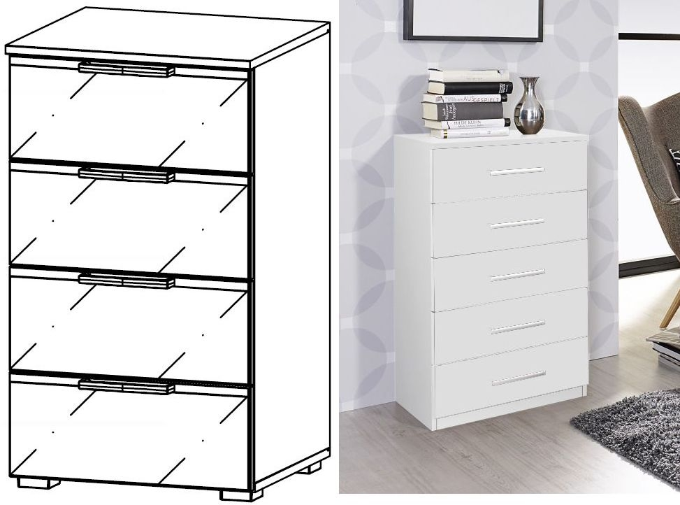Clearance Half Price - Rauch Terano 4 Drawer Chest - New - FS110