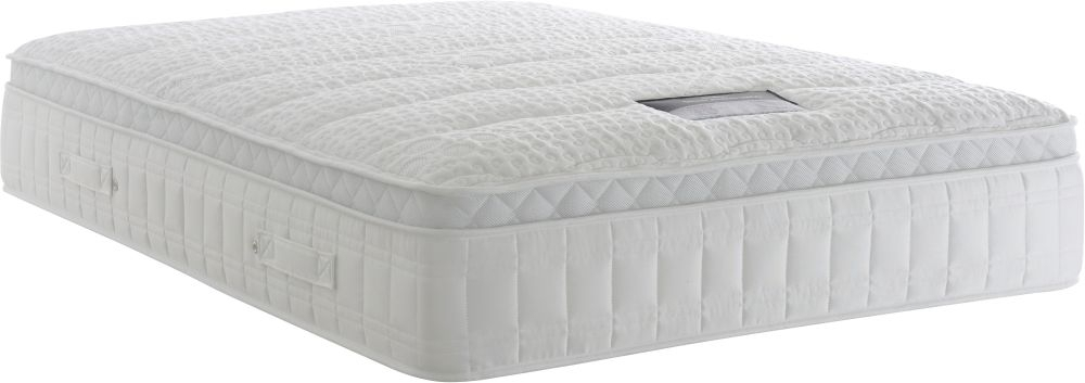 Clearance - Dura Beds Silver Active 2800 Pocket Spring 4ft 6in Double Mattress - New - FS1162