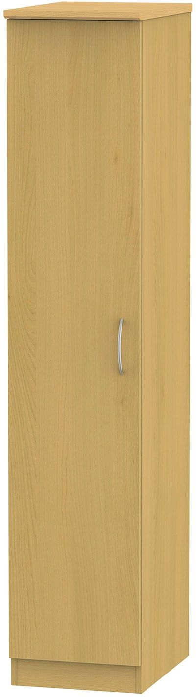 Clearance Avon Beech Single Wardrobe - 1052