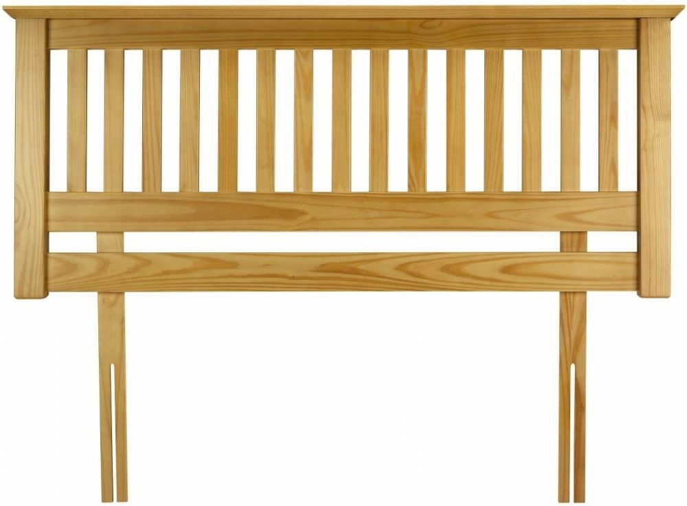 Clearance Half Price - Julian Bowen Barcelona 135cm Pine Headboard - New - GR31