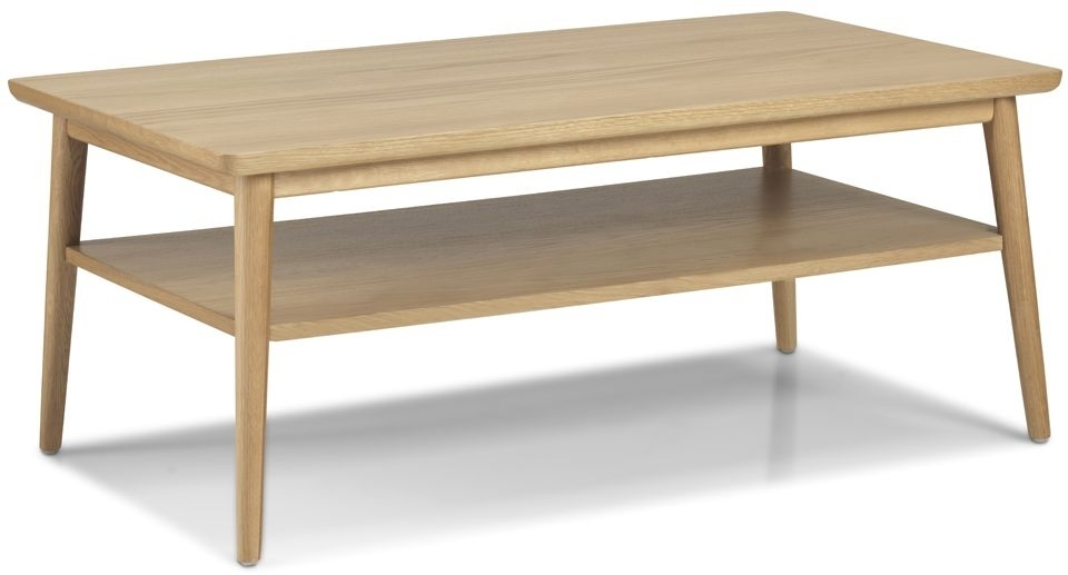 Clearance Skean Solid Oak Large Coffee Table - 2252